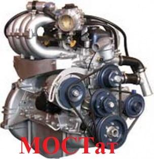 Двигатель УМЗ-4218 (АИ-92 89 л.с.) для авт.УАЗ 452, 469, HUNTER, карбюратор, с лепестковым сцеплением 4218.1000402-30