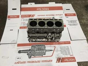 Блок цилиндров УМЗ-4216 без картера сцепления (Евро 3, Евро 4)
