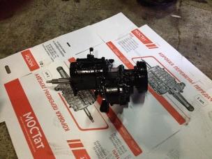 Агрегат (КПП+РК) УАЗ - 3741, 452, 3909 с/о 452-1700005-20