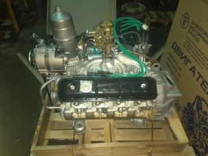 ЗМЗ-5234 Двигатель (автобус ПАЗ-3205 без ремней, катушки зажигания, генератора и насоса ГУР) 52342.1000400