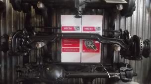 Подвеска Газ-33104, 33106. 33104-2901001