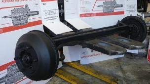 Ось передняя ПАЗ 3205, Газ 3307 (3307-3000012)