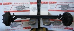 Ось передняя с тормозами в сборе ГАЗ 3309 3309-3000012