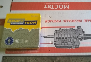 Сцепление ГАЗ-3302 Бизнес дв.УМЗ-4216 СБ KRAFTTECH W05240A