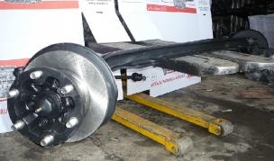 Подвеска ГАЗ-3302 передняя АБС Газ 3221-3000012