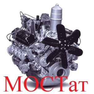 Двигатель ЗМЗ-523300 ГАЗ-3308 130 л.с. № ЗМЗ 5233-1000403-10