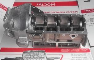 Блок цилиндров двигатель EvoTech 2.7  Г-A21R23
