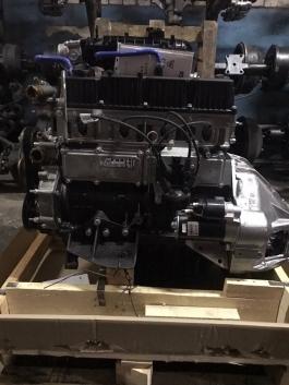 Двигатель Evotech 2.7 A305 для ГАЗель NEXT чугунный блок цилиндров