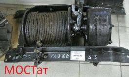 Лебедка с редуктором ГАЗ-66 66-02-4501010