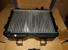 Радиатор охлаждения двигателя УАЗ-469, 3741,3151 2-х рядный паяный NOCOLOK